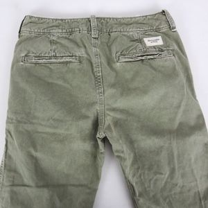 Abercrombie & Fitch 30x28 Slim Straight Fit Green